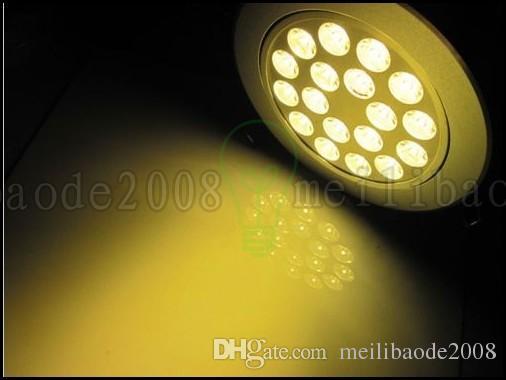 جودة عالية 3 واط 4 واط 5 واط 7 واط 9 واط 15 واط 18 واط 18 واط أدى راحة السقف أسفل ضوء بقعة مصباح مصباح ضوء مصباح ac 85-265V داخلي النازل مع LED سائق LLWA023