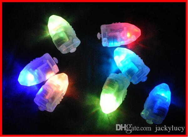Colorful Flash LED Balloon Lights Bullet Light Up Lantern Lamp Light For Christmas Wedding Party Decoration Supplies