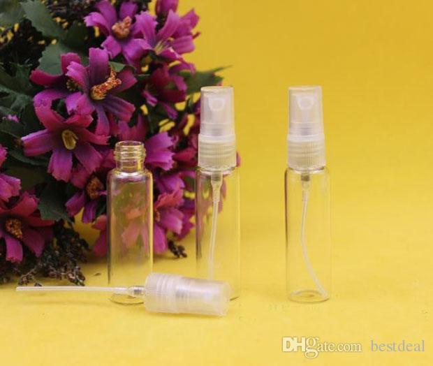 Botellas de vidrio al vacío de 10 ml Botellas de vacío de botellas de spray Refill bottle / Environmental protection botella de perfume de spray pequeño 10 ml Home Fragancias