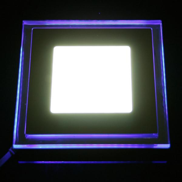 10W Square Die-casting aluminum + Acrylic material mini LED Panel Light Recessed Ceiling Panel Light Warm White Cool White