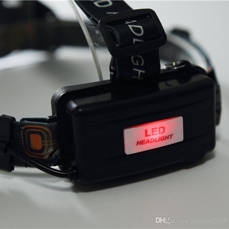 Ücretsiz Kargo 2016 Yeni Varış 3x CREE XM-L XML T6 LED 5000Lm 3T6 Şarj Edilebilir Far Başkanı işık + Pil + Şarj + Araç Şarj + USB Cab