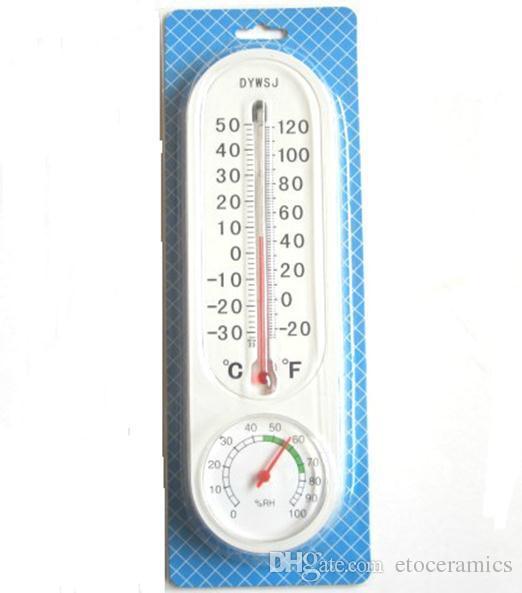Misuratore di umidità della temperatura montato a parete con igrometro analogico domestico