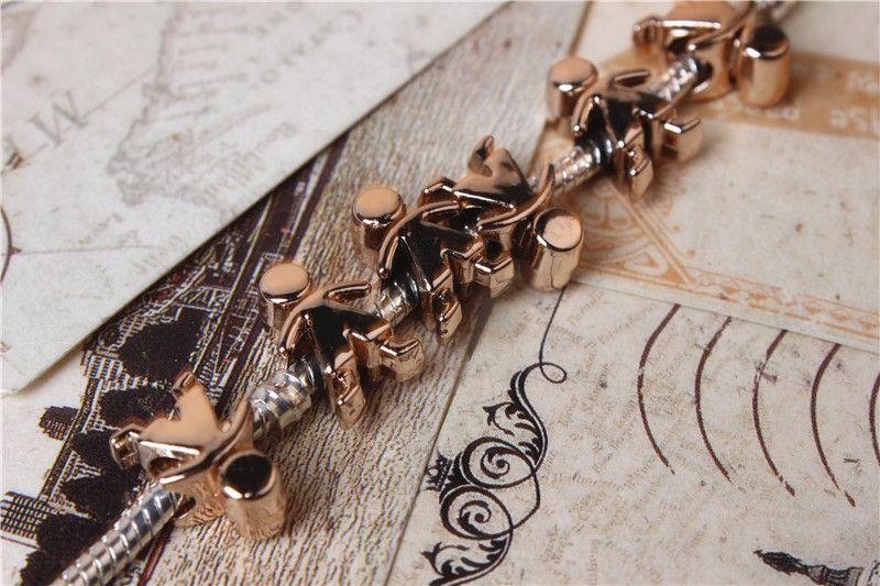 Aleación encanto del grano único del hombre del caramelo plateado moda mujeres joyería impresionante diseño estilo europeo para Pandora collar