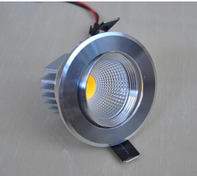 High Power 10W Dimmable COB led downlight Warm White/Pure White/Cold White led ceiling lights recessed led down light AC85-265V