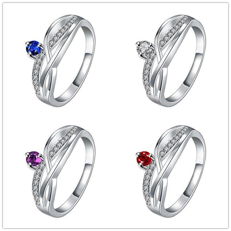 Großhandel 925 Silber Ringe Damen Krone Ringe Rot Weiß Blau Lila Zirkon  Ringe Graceful Trauringe Liebhaber Geschenk Ringe Gemischte Größe 7 8 Von  Cactus77, ... d41d613b74