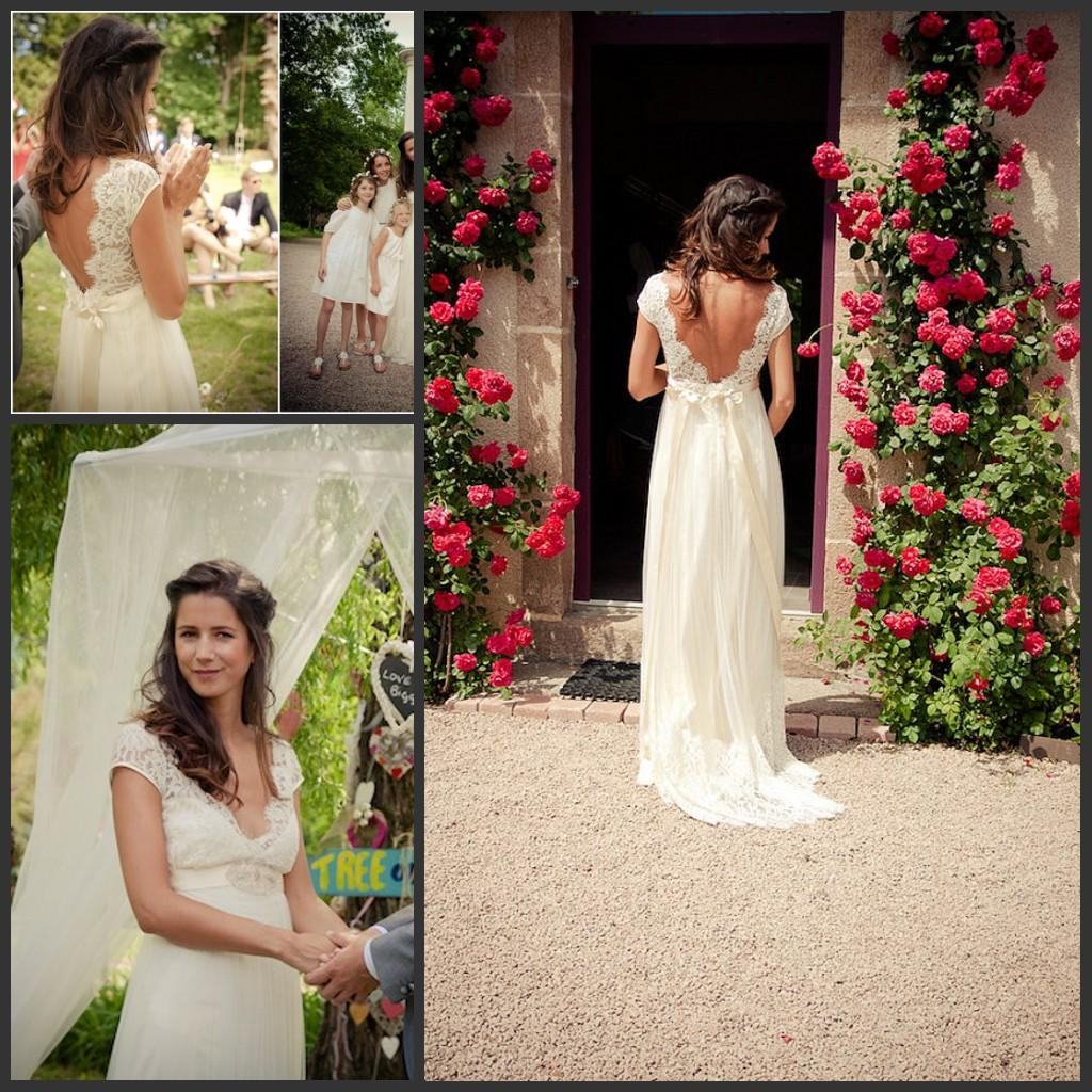 Discount simple low back high waist pregnant wedding dress with discount simple low back high waist pregnant wedding dress with sash v neck cap sleeves lace bohemian backless maternity bridal gowns real photo second ombrellifo Gallery