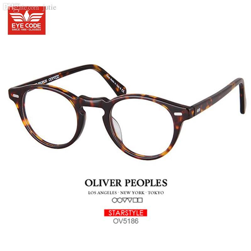 307b383477 ... Frames For Men Women Fit Prescription. 2018 Whole Vintage Eyegl Oliver  Peoples Round 5186