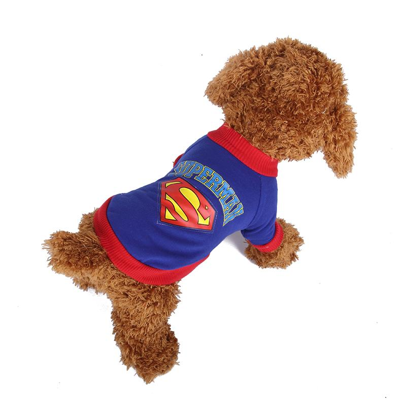 2018 Doglike Superman Christmas Costumes For Dogs Summer Style Wholesale Dog Clothes Chihuahua Clothes Small Clothing Overal Pug Coat Pet Apparel From Zsmj ...  sc 1 st  DHgate.com & 2018 Doglike Superman Christmas Costumes For Dogs Summer Style ...