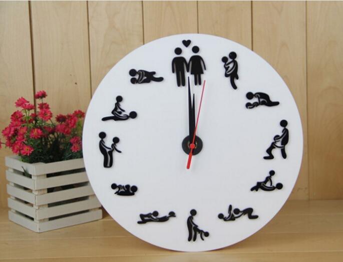 72fa46b8c26 Compre Venda Quente Novo Sexo Relógios De Parede Postura Sexy Relógio De  Parede Decoração Do Quarto Relógios De Parede Decoração De Casa De  Mickeyshi1987