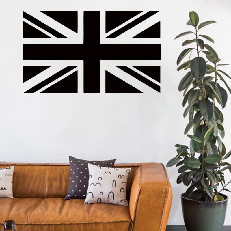 Marvel Wall Stickers Cheap Vinyl Home Decoration British Flag Wall Sticker  Removable Waterproof Pvc House Decor Wall Decals In Bar Or Shop Large Wall  ...