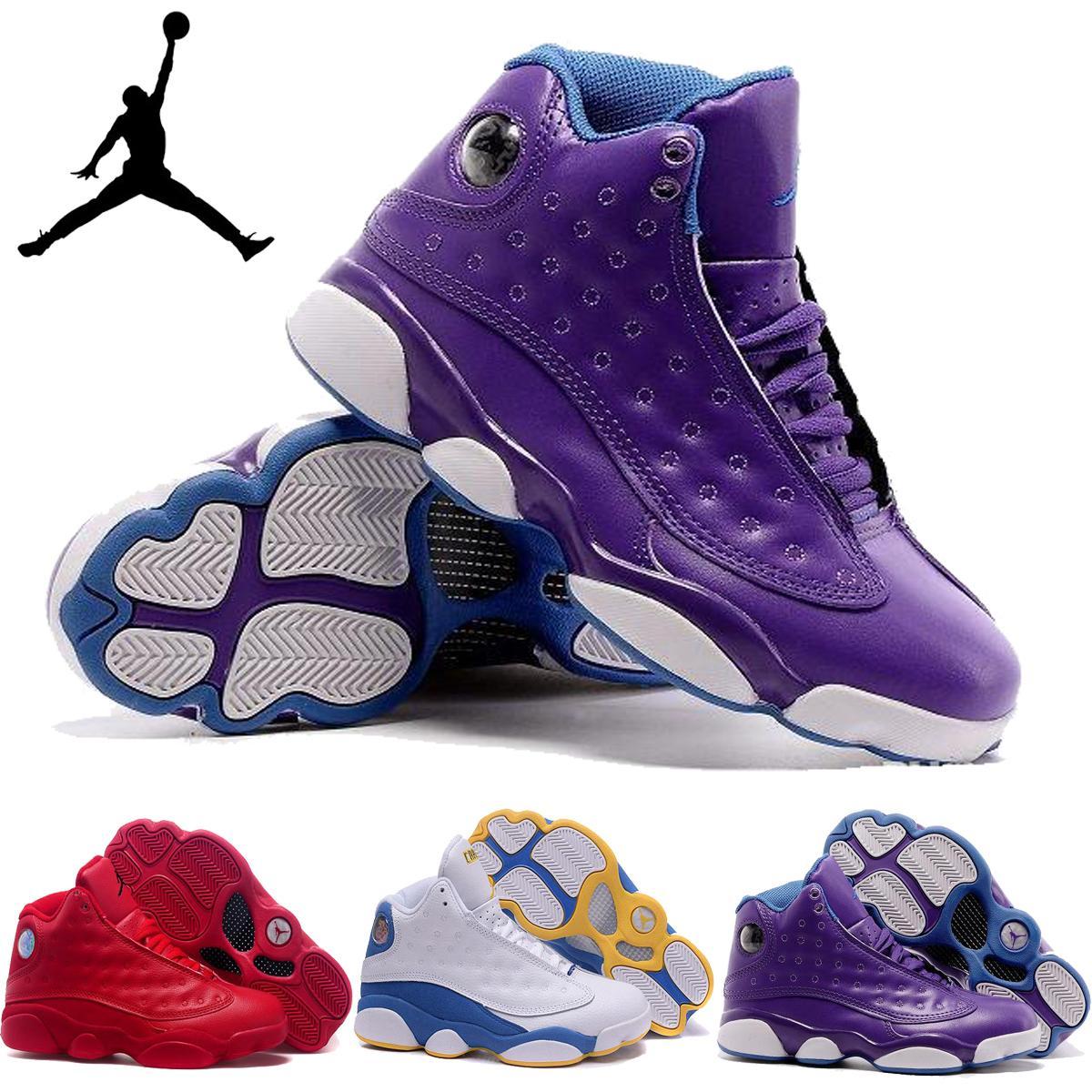 ea981eb8b722 ... where can i buy nike air jordan 13 xiii gs strawberry lavender violet  womens basketball shoes
