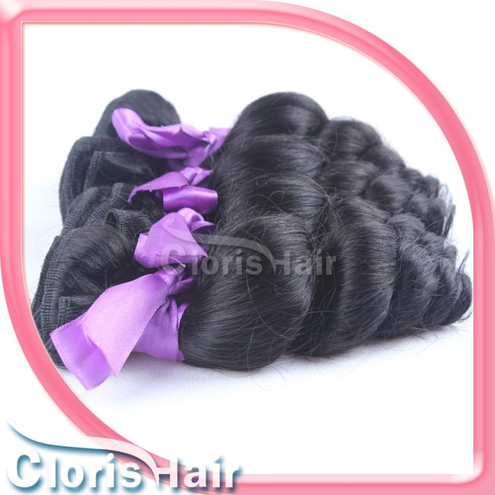 Loose Wave Malaysian Hair and Closures Cheap 3 Bundles Loose Wavy Human Hair Weave with Lace Top Closure Marley Curly Pieces