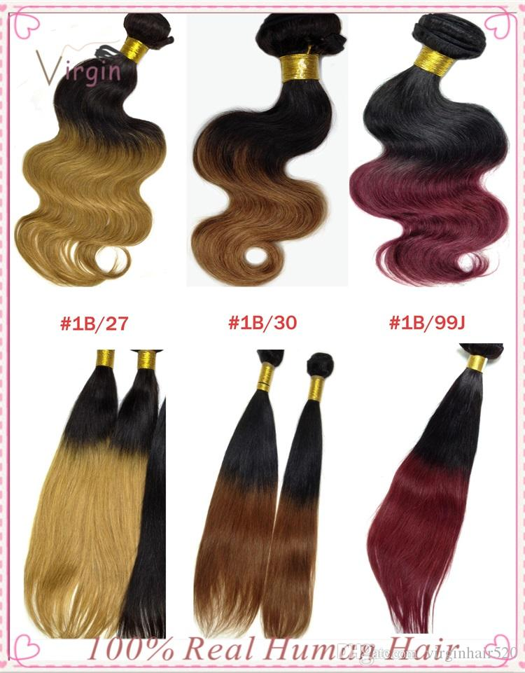 Cheap unprocessed virgin hair ombre hair extensions uk 6a dyeable see larger image pmusecretfo Image collections