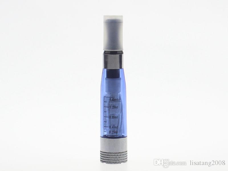 로트 당 10 개 CE4 + 플러스 아토 마이저 1.6 ml 교체 형 코일 자존 배터리 용 8 색 탱크 기화기 클리어 미이 더 EVOD X6 X9