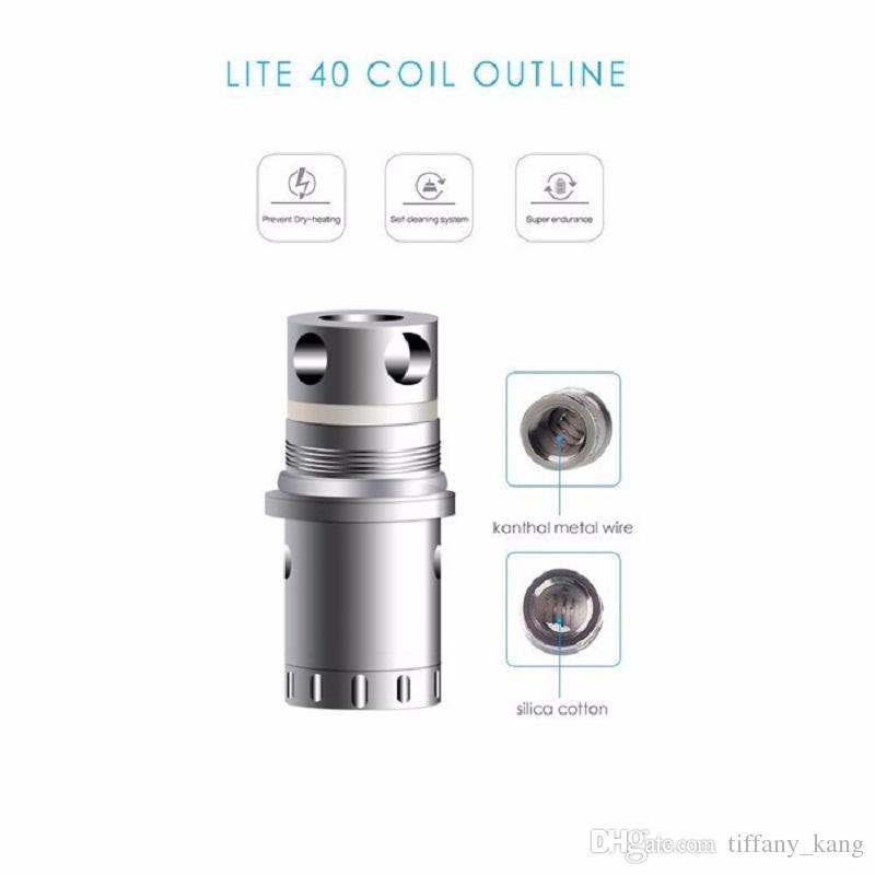 Top Quality Jomo Lite 40 Replacement Sub Ohm Coils for Jomotech Lite 40 Tank Coil Head 0.5ohm Rebuildable Vape Mods Atomizers Core