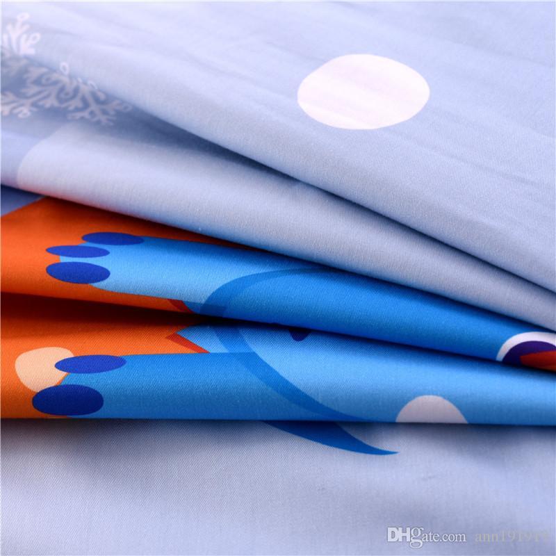 Süße junge mädchen kinder kinder bettwäsche-sets mit 8 stück reiner baumwolle quilt kissen bettdecken hohe qualität für kind