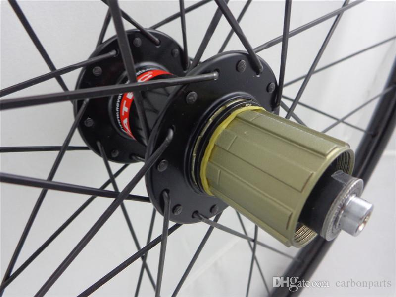 Full Carbon Fiber Mtb Bike Wheelsets 26er/27.5er/29er Mountain Bicycle Wheels 16-32 holes Novatec Hub