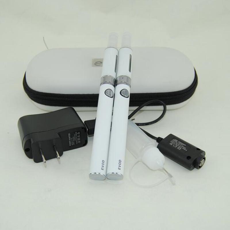 eGo evod mt3 Electronic Cigarette double starter kit MT3 Vaporizer Atomizer Clearomizer tank vape Ecigs evod Battery double zipper case kits