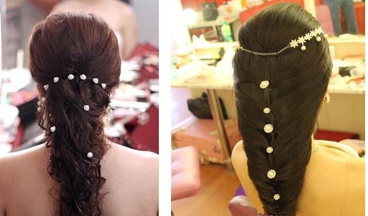 Hair Clips Barrettes Women Hair Bands Wedding Bridal Hair Pin Clear Crystal Rhinestone Hairpins Clips Hair Styling Jewelry spiral hairpin