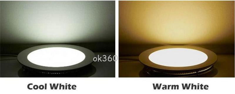Design Ultrafino 3 W 4 W 6 W 9 W 12 W 15 W 18 W 21 W CONDUZIU a Luz Do Painel de Teto de Superfície Recesso Grade Downlight Rodada / Praça luzes Internas AC110-265V