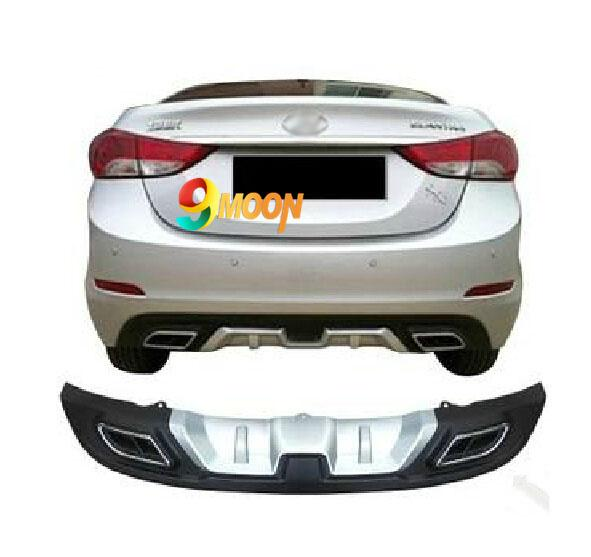 2014 New ! Rear Bumper Protector Dual Diffuser Spoiler Special For
