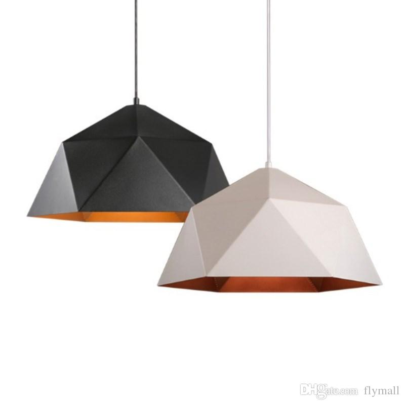Modern Pendant Lights For Home Lighting Hanging Lamp 25cm 38cm 46cm 60cm Iron Lampshade E27 LED Bulb Bedroom Coffee Kitchen Light