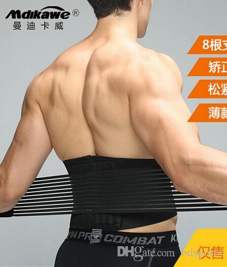 Atacado-de alta qualidade Neoprene Duplo Pull vertebral lombar Suspensórios Voltar Apoio Belt Lower Back auto-aquecimento Correia