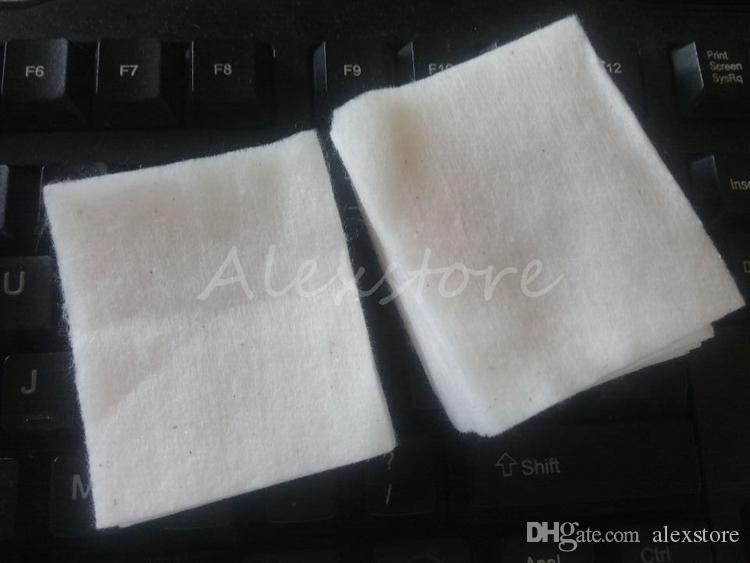 Japanese 100% pure organic cotton wicks cotton fabric japan pads For DIY RDA RBA Vape Ecig Mechanical mod /bag from MUJI retail