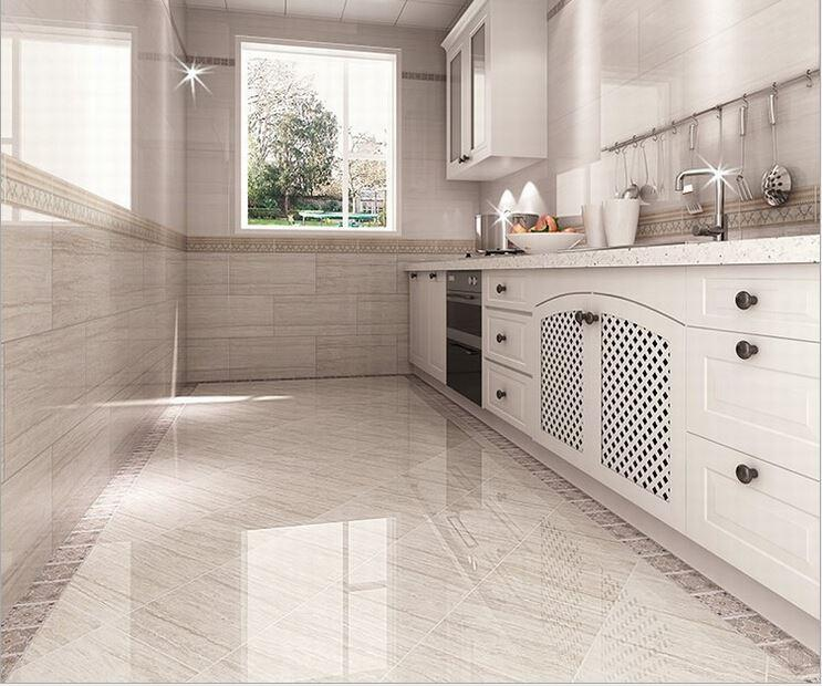 Charming 2017 Ceramic Tile Kitchen Wall 300 * 600 Full Cast Glazed Tile Kitchen  Bathroom Color Optional Wear Waterproof From Yaling168, $2829.15 |  Dhgate.Com