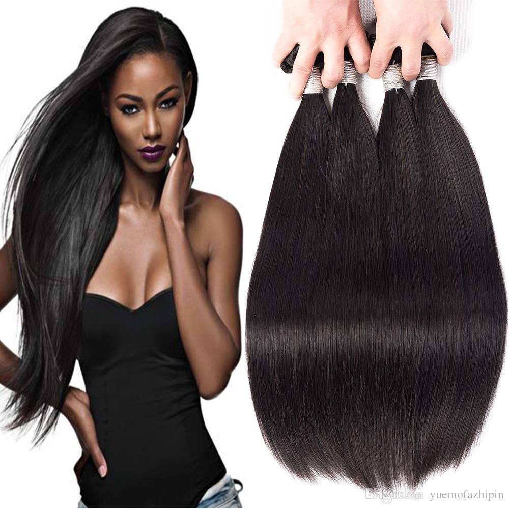 Grace Length 8a Remy Straight Of Human Hair 3 Bundles Unprocessed