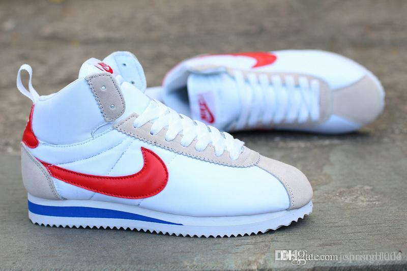 buy online 90a18 0d29f nike cortez red white