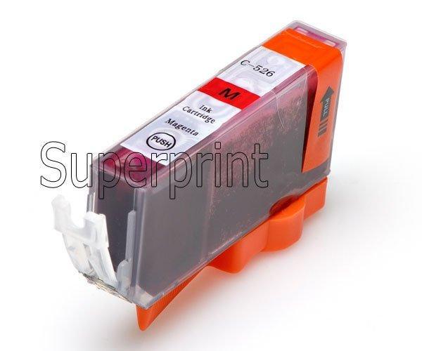 6 x Mürekkep Kartuşları PGI-525 BK PGI525BK CANLI PIXMA MG6100 MG6150 MG6250 YAZıCı için CLI-526