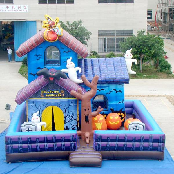 2018 aoqi inflatable fun city inflatable magic halloween house inflatable fun land for kids for sale made in china from aoqisally 401006 dhgatecom