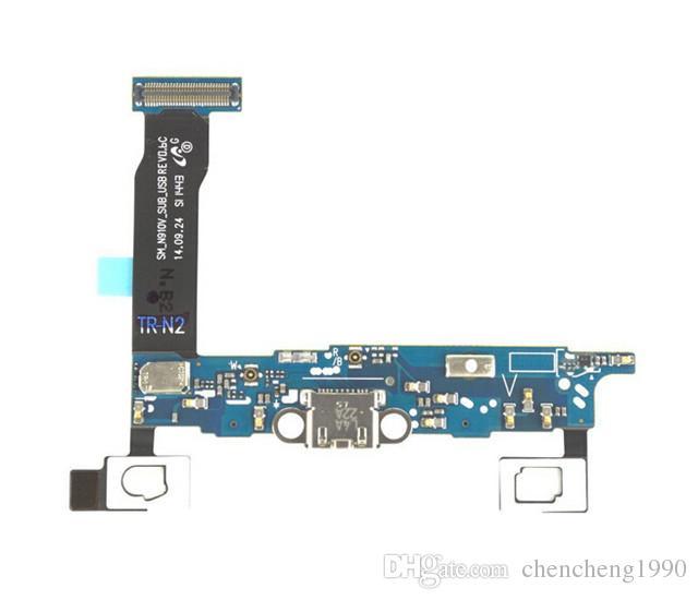 Caricabatterie originale Dock USB di ricarica Cavo Flex con parti di riparazione MIC Samsung Galaxy NOTE 4 N910A N910P N910V N910V