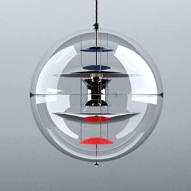 See larger image & Discount Foscarini Light Modern Verpan Vp Globe Lamp Italy Vp ... azcodes.com