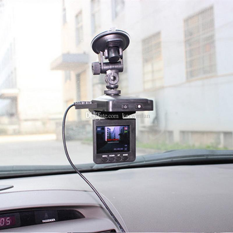 """H198 Car DVR 2.5"""" Vehicle Video Voice Recorder Camera Camcorder HD DVR With 6 IR LED Night Version Support Multi-language"""