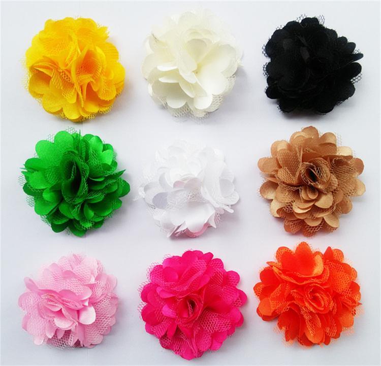 Neueste Kinder Haarschmuck Nette Farben Baby Haarschmuck Grenadine Material Stirnbänder für Babys Neue Ankunft LY010