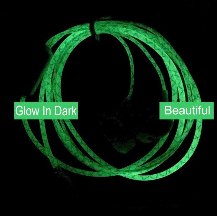 Hot Glow In The Dark Headphones Cool Led Earphone Luminous