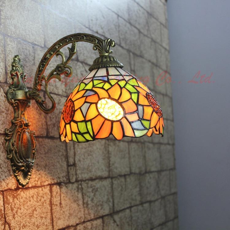 2017 Hua Li Di Giovanni Retro Living Room Wall Lamp Bedside
