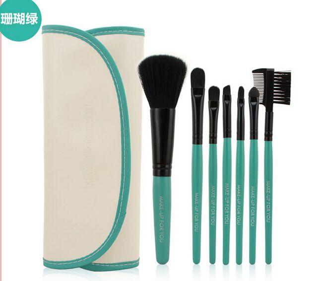 Free DHL Professional pinceaux de pinceaux de maquillage Set outils maquillage Kit de toilette Laine Marque Make Up Brush Set Case PY