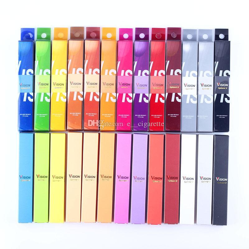 Оптовая продажа от производителя Vision II eGo Twist BatteryАккумулятор переменного напряжения 1600 мАч 3.3 В - 4.8 В Vision 2 для eGo Atomizer 13 цветов