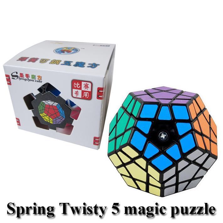 compre juguetes rompecabezas de cubo puzzle cubos shengshou pentágono forma megaminx velocidad