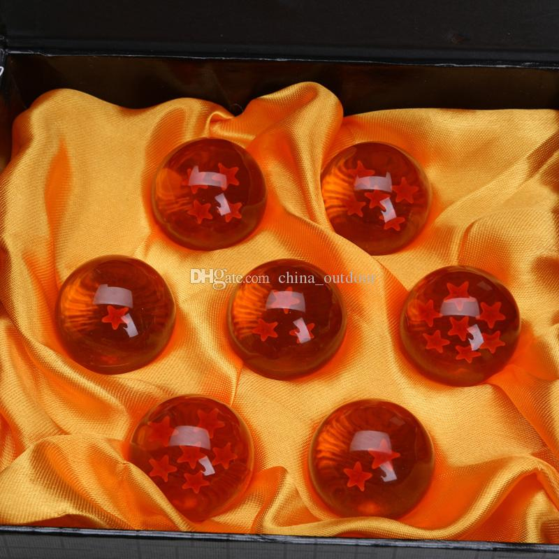 3.5CM New In Box DragonBall 7 Stars Crystal Ball Dragon Ball Z Balls Complete set