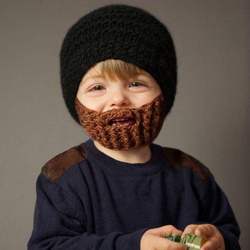 Hats Beanie Skull Caps Bearded Wool Knitted Hats Beard ...