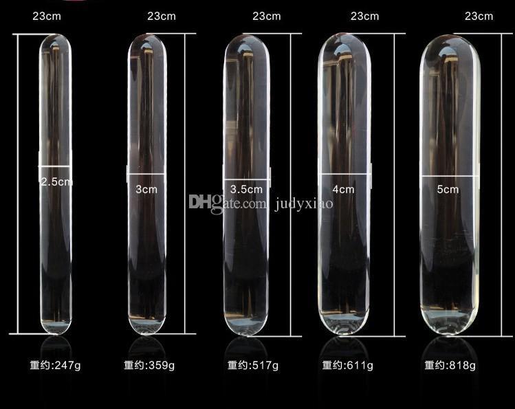 大人の大人のゲームガラスディルドドンクリスタルアナルプラグガラスいちゃつくスティックセックスおもちゃ