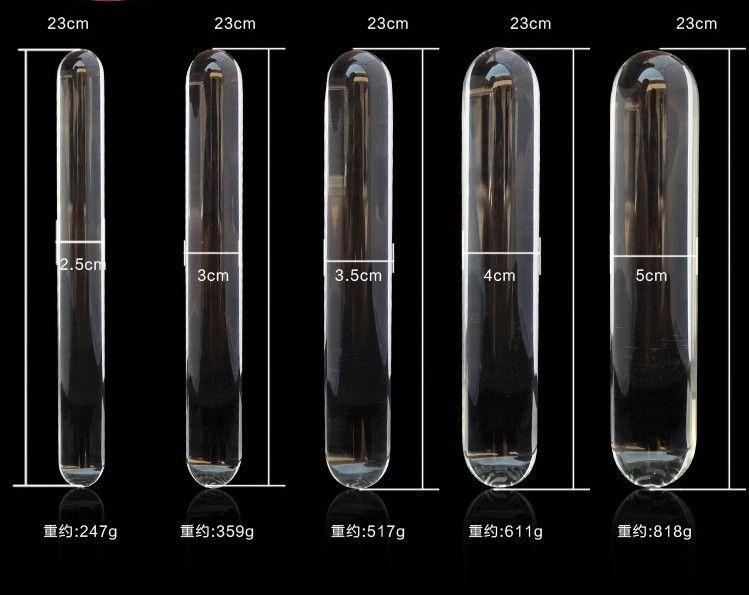 Grote Volwassen Games Glas Dildo Dongs Crystal Anal Plug Glas Flirten Stick Seksspeeltjes voor haar