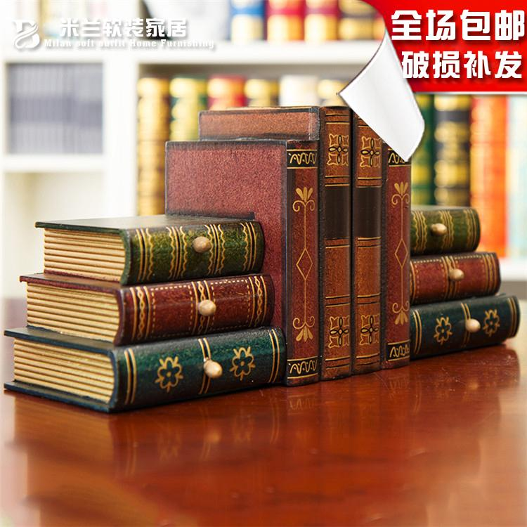 Retro Book Holder By Decorative Books Simulation Knick Knacks Office Desk Ornaments Creative Props Bookends With 199 14 Piece On Zhoudan5249 S
