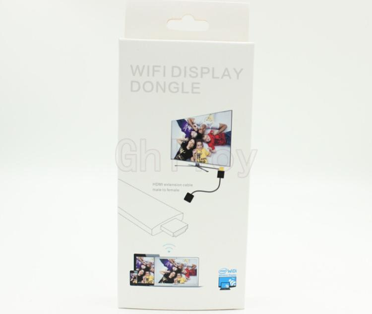 TV-Stick Miracast DLNA WIDI Airplay Wi-Fi-Display Dongle Wireless Share Push-Empfänger-Adapter für iOS Android Smartphone