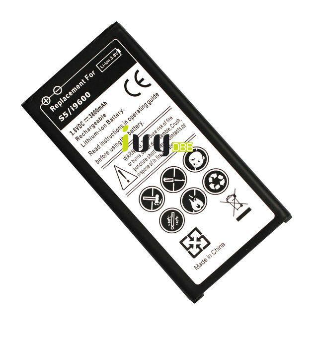 5 adet / 3800mAh EB-BG900BBC Yedek Akü İçin Samsung Galaxy S5 SV i9600 G900A G900T G900V G900P Piller Batterij Bateria Batterie