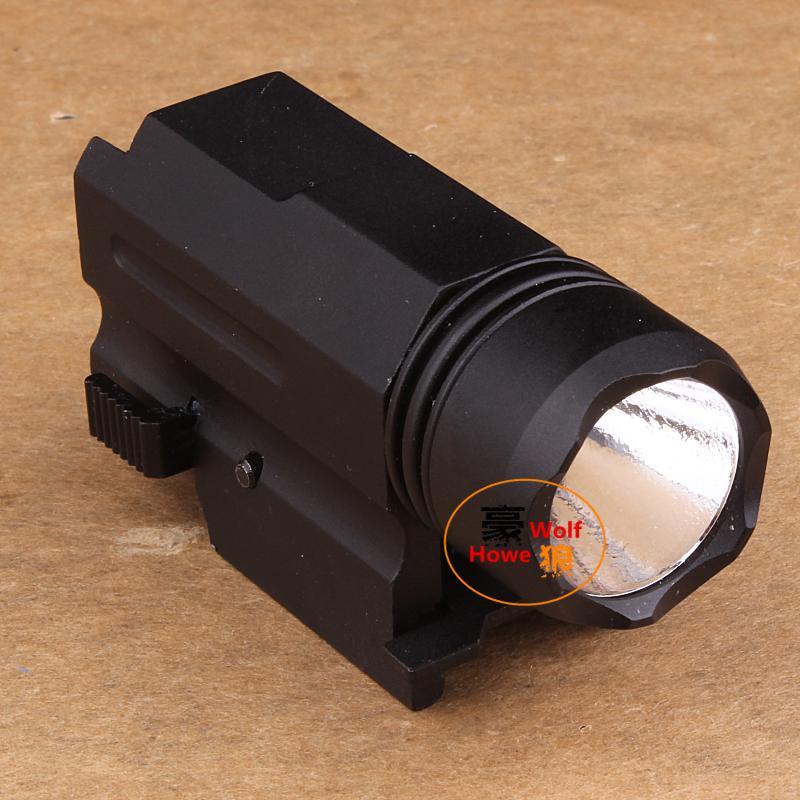 Pistolet léger 800LM CREE XP-G XPG R5 LED torche de lampe-torche tactique en aluminium adapté à Picatinny Rail